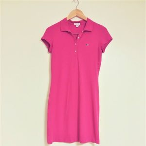 Lacoste Ladies Shirt Dress, Euro sz 40, US 10/M